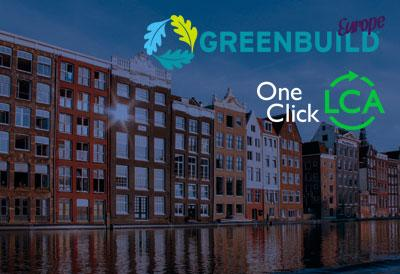 Join the One Click LCA Expert Meeting at Greenbuild Europe to get all your questions answered about One Click LCA and meet other users.