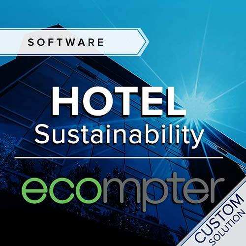 One Click LCA hotel sustainability Ecompter solution