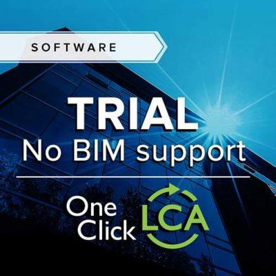 One Click LCA trial without BIM support and training