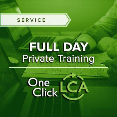 Full day One Click LCA training