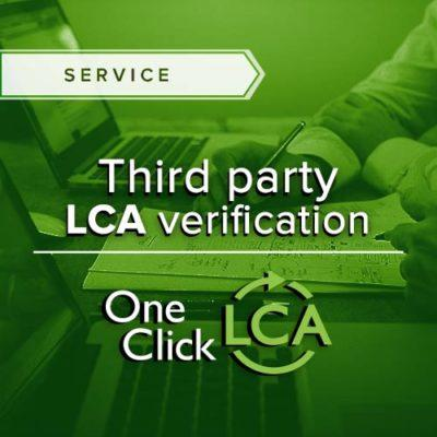 Wish to improve your results and project credibility? Get your results verified by our experienced LCA engineers.