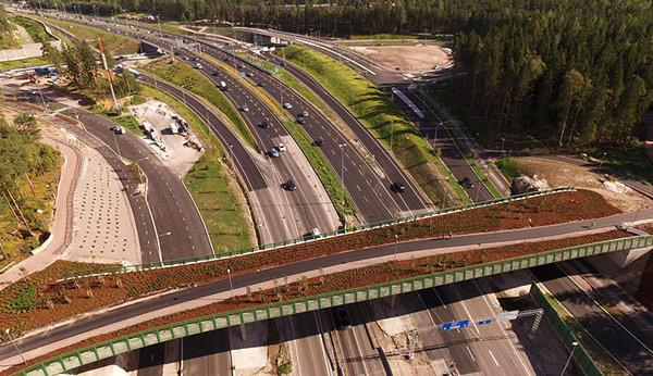 One Click LCA was used to assess the life-cycle impacts of this infrastructure case study according to EN 15978 standard for the Finnish Transport Agency.