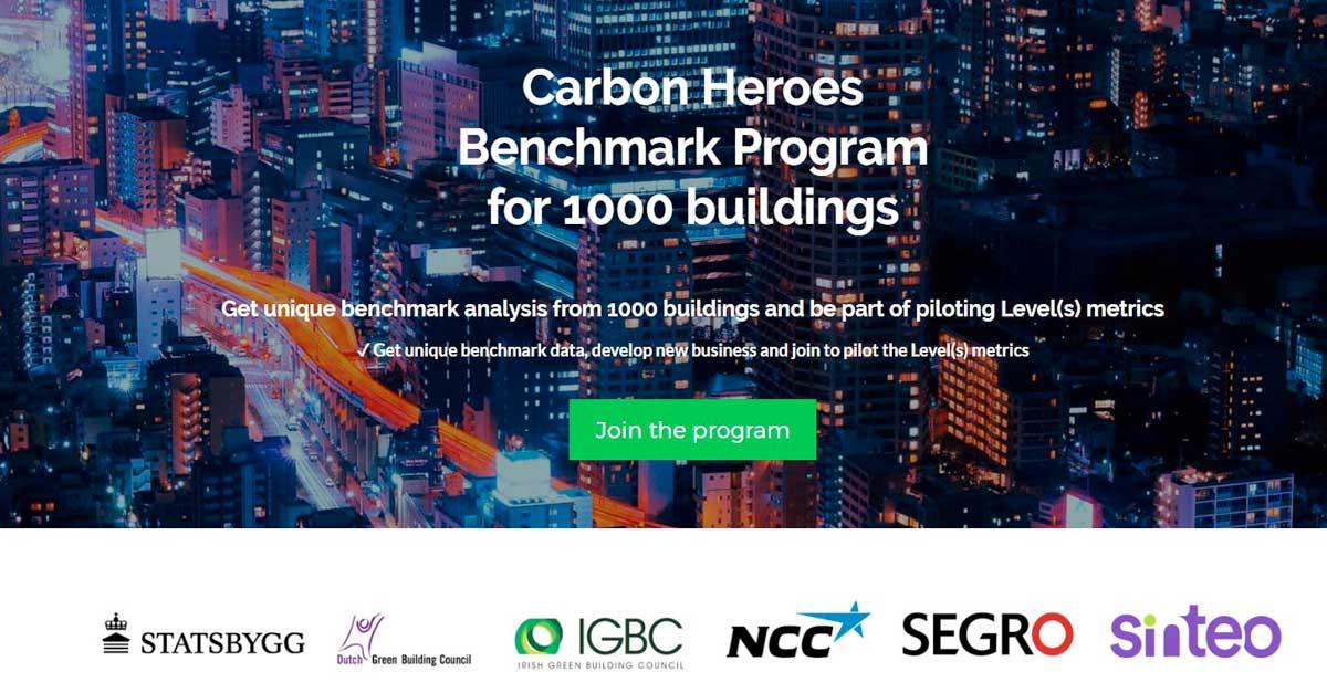 Join our carbon benchmark program to become a carbon hero.