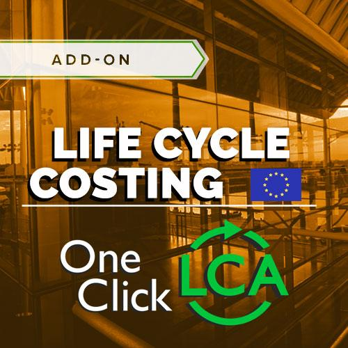 Easy to use and robust solution for doing Life Cycle Costing for all European certifications and other purposes with integrated cost data and easy optioneering.