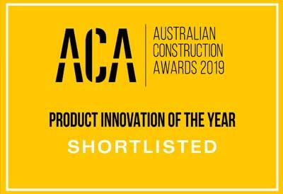 One Click LCA has been shortlisted in the Product Innovation of the year category for the Australian Construction Award.