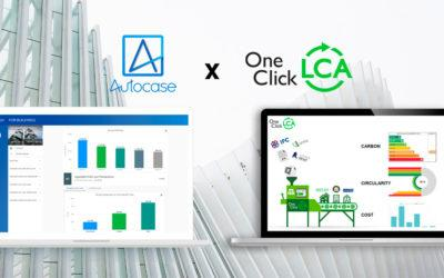 [Press Release] The Full Carbon Story for Buildings at Any Design Stage – One Click LCA and Autocase Integration