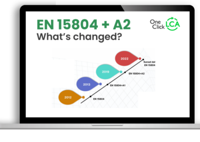 [Recorded Webinar] What's changed in EN 15804+A2 and how to adapt to it