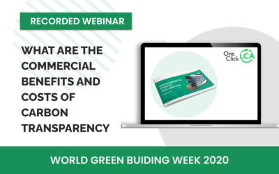 [Recorded webinar] What are the commercial benefits and costs of carbon transparency
