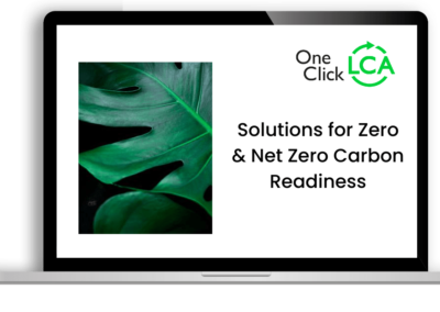 [Recorded webinar] Solutions for Zero & Net Zero Carbon Readiness