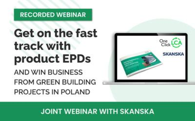 [Recorded webinar] Get on the fast track with product EPDs and win business from green building projects in Poland