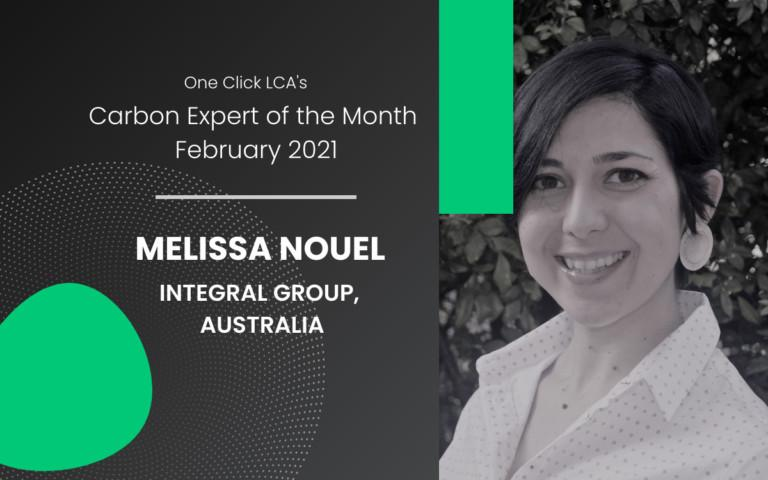 Carbon Expert of February 2021 – Melissa Nouel