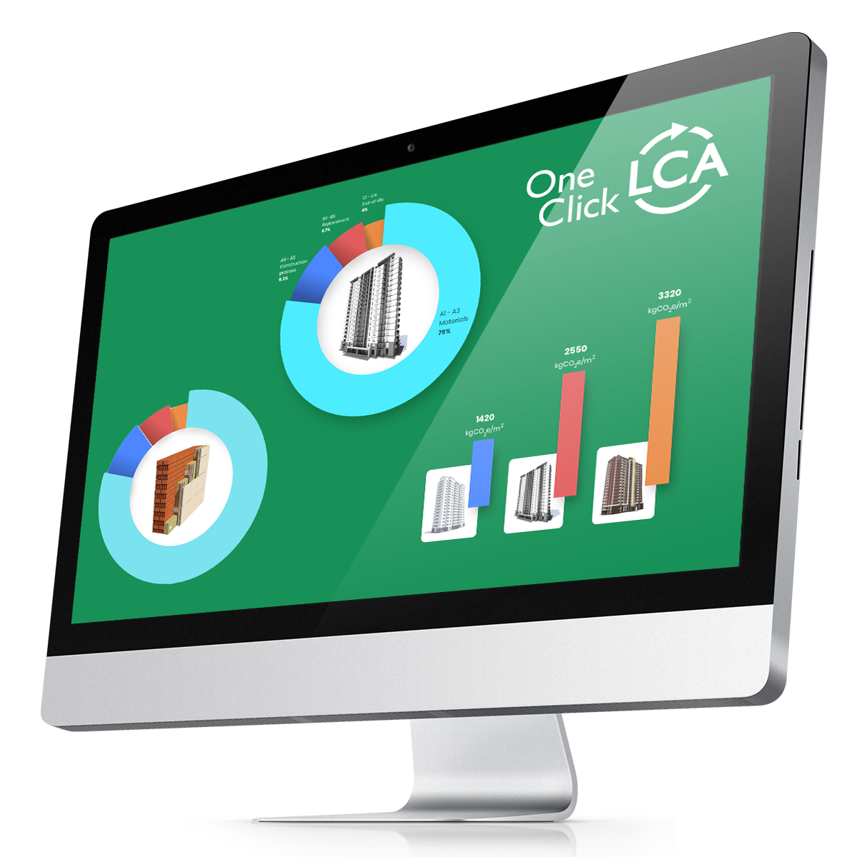World's fastest Building Life Cycle Assessment software - One Click LCA